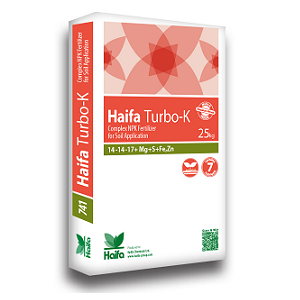 Haifa Turbo-K™ 14-14-17+ Mg + S + Fe + Zn