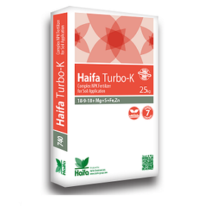 Haifa Turbo-K™ 18-9-18 + Mg +S + Fe + Zn